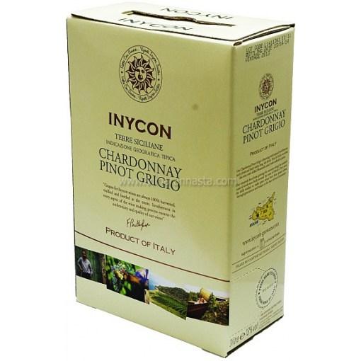 Inycon Chardonney Pinot Grigio 13,5% 300cl BIB