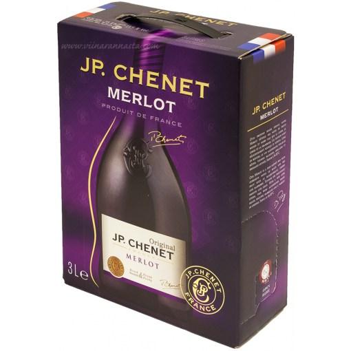 J.P.Chenet Merlot 13% 300cl BIB
