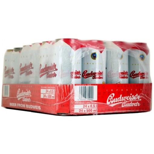 Budweiser Budvar 5,0% 50cl x 24 tölkkiä
