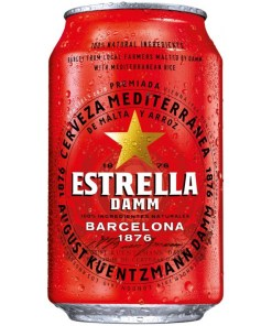 Estrella Damm 4,6% 33cl x 24 tölkkiä