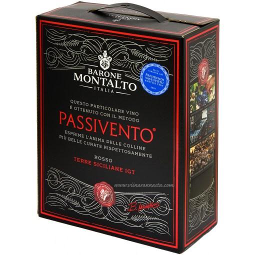 Barone Montalto Passivento Rosso 13,5% 300cl BIB