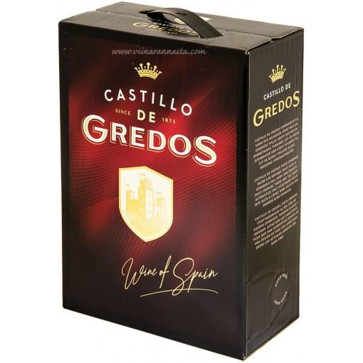 Castillo De Gredos Tinto 13% 300cl BIB