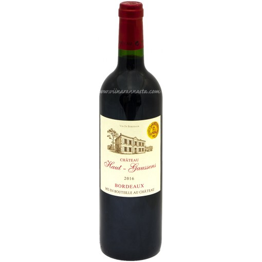 Chateau Haut-Gaussens Bordeaux 13,5% 75cl