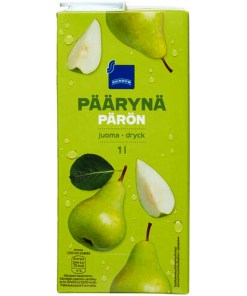 Päärynämehu 1L