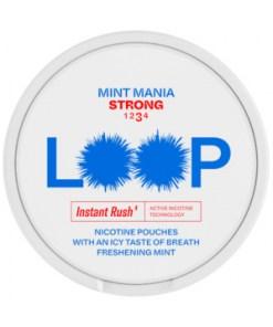 LOOP Mint Mania Strong 9,4mg 10 rasian torni