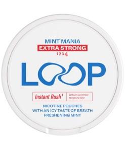 LOOP Mint Mania Extra Strong 12,5mg 10 rasian torni