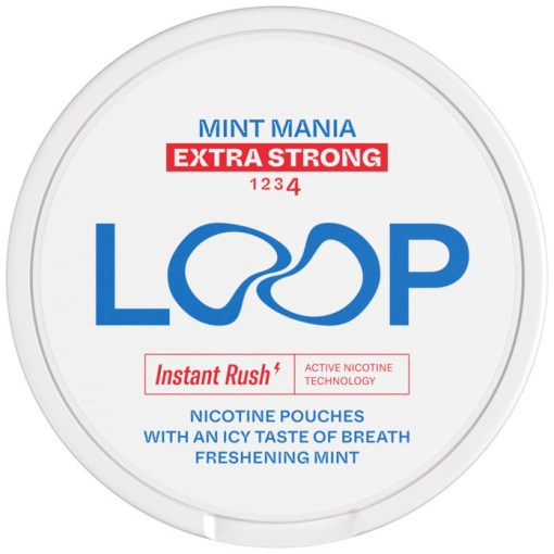 LOOP Mint Mania Extra Strong 12,5mg x10