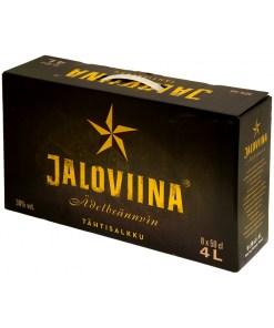 Jaloviina 38% 50cl PET x 8 pullon salkku