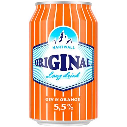 Hartwall Original Appelsiini Lonkero 5,5% 33cl x 24 tölkkiä