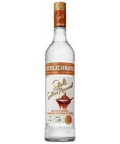 Stolichnaya Salted Karamel 37.5% 70cl