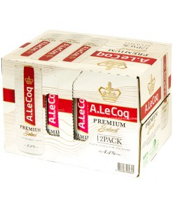 A.Le Coq Premium Select (Gluteiiniton) 4,3% 12x35,5cl