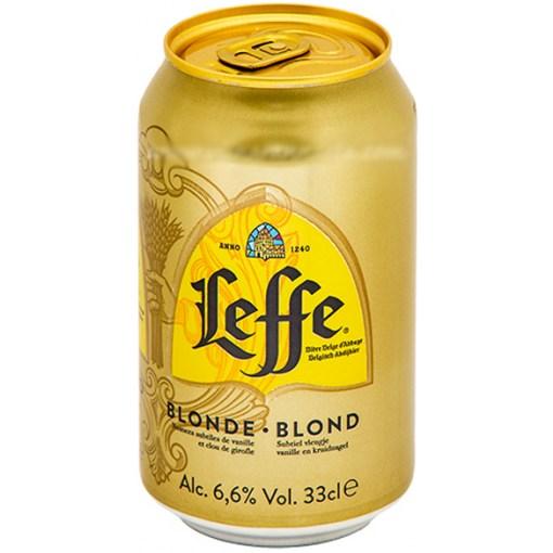 Leffe Blonde 6,6% 33cl x 24 tölkkiä