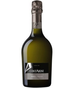 Pinot Grigio, Vino Spumante, Extra Dry, Contarini, Italia 11,5% 0,75L
