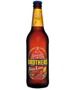 Brothers Cloudy Lemon Premium Cider 4% 0,5l x12 pulloa