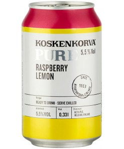 Koskenkorva Pure Strawberry-Lime 5,5% 33cl x 24 tölkkiä