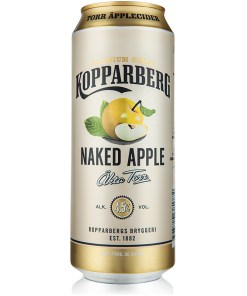 Kopparberg Naked Apple Dry Premium Cider 4,5% 0,5l x24 tölkkiä