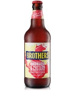 Brothers Rhubarb & Vanilla Cider 4% 0,5l x12 pulloa