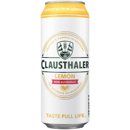 Clausthaler Lemon, 0% 0,5L x24 tölkkiä