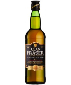 Clan Fraser, Blended Scotch Whisky 40% 0,7L