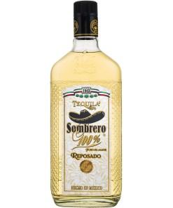Tequila Sombrero, Reposado, 100% Puro De Agave 38% 0,7L
