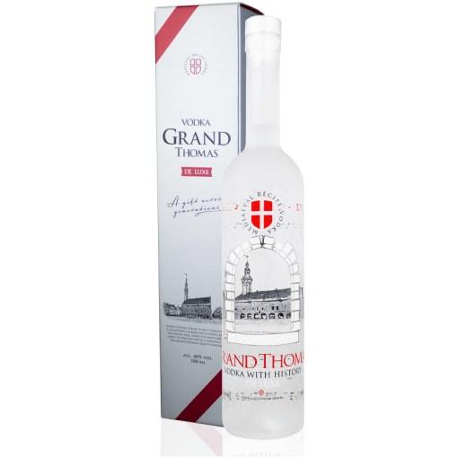 Grand Thomas De Luxe Vodka 40% 0,7l + pakkaus