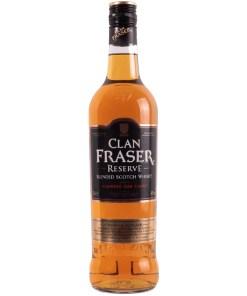Clan Fraser, Reserve, Blended Scotch Whisky 40% 0,7L