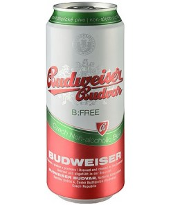 Budweiser Budvar 0% 0,5l x 24 tölkkiä