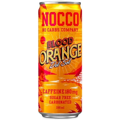 NOCCO Blood Orange Del Sol 33cl x 24 tölkkiä