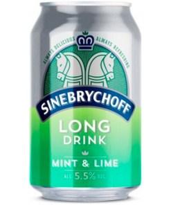 Sinebrychoff Mint & Lime Lonkero 5,5% 33cl x 24 tölkkiä