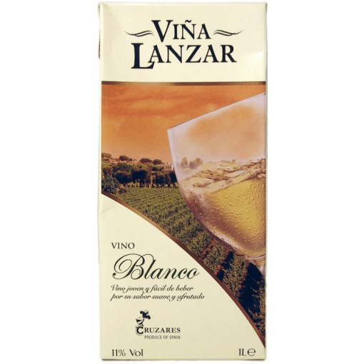 Lanzar Vino Blanco 11% 1L