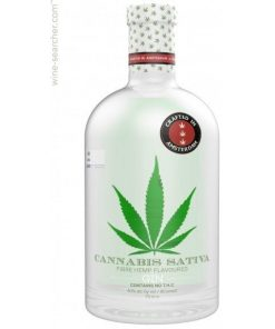 Cannabis Sativa, Fibre Hemp Flavoured, Gin, Holland 40,0% 0,7L